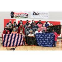 St. James HS Senior Beta Club Donate Blankets