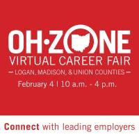 Virtual Career Fair - Logan, Madison, Union Counties