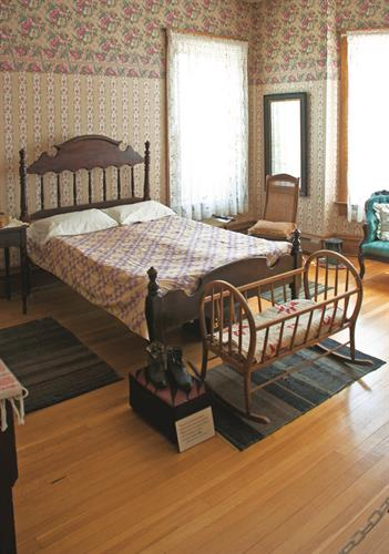Orr Mansion 2nd Floor Bedroom