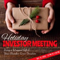 **CANCELED** Holiday Investor Meeting - December 15, 2020