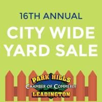 16th Annual City Wide Yard Sale