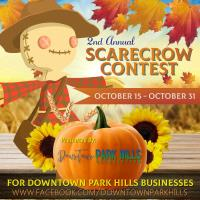 Vote for Your Favorite Downtown Park Hills Scarecrow Now!