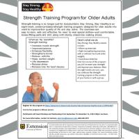 Strength Training Program for Older Adults