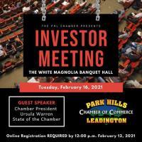 Investor Meeting - February 23, 2021