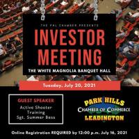 Investor Meeting - July 20, 2021