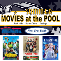 2021 Summer Movies at the Pool! This Week: Playing With Fire in Bonne Terre!