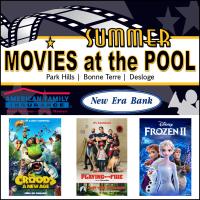 2021 Summer Movies at the Pool! This Week: Frozen II in Desloge!
