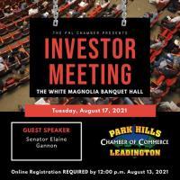Investor Meeting - August 17, 2021