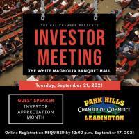Investor Meeting - September 21, 2021