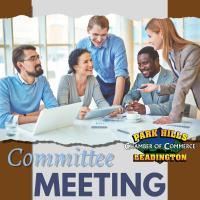 Committee Meeting - Sauces & Shows