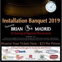 Installation Banquet 2019