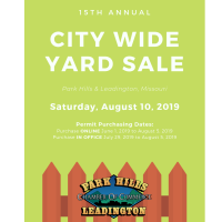 15th Annual City Wide Yard Sale