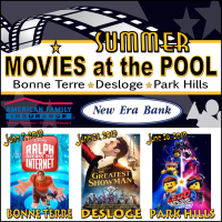 Summer Movies at the Pool! The Greatest Showman