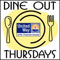 Dine Out Thursday for United Way at Pasta House & Subway: Bismarck, Bonne Terre, Desloge, & Farmington
