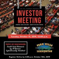Investor Meeting - October 15, 2019