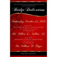 Bridge Dedications