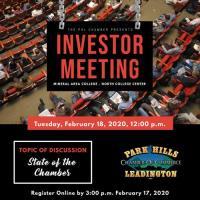 Investor Meeting - February 18, 2020