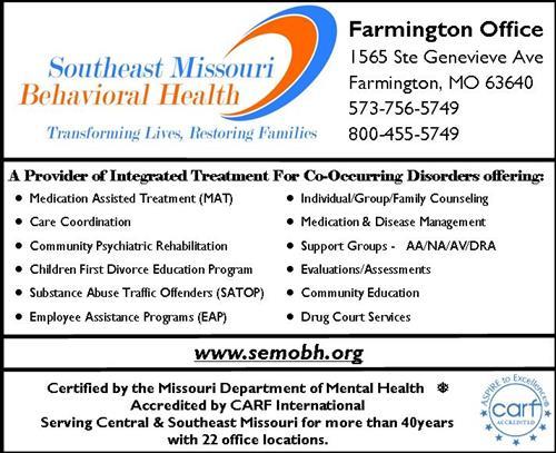 Southeast Missouri Behavioral Health Healthcare Comprehensive