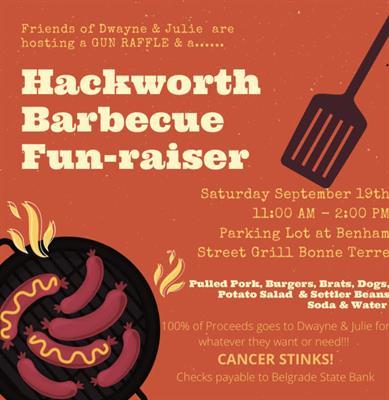 Hackworth Barbecue Fun-raiser