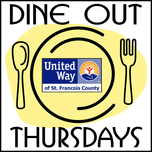 Dine Out Thursday for United Way at Colton's Steak House
