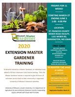 2020 Extension Master Gardener Training