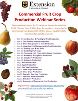 Commercial Fruit Crop Production Webinar Series