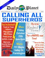 Calling All Superheroes! Indoor Trunk N Treat!