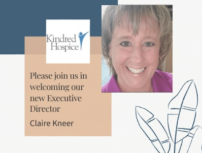 Kindred at Home Welcomes Claire Kneer as the New Executive Director