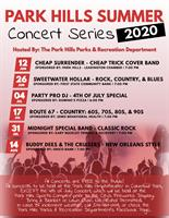 2020 Summer Concert Series - Concert #1 - Cheap Surrender