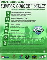 2021 Summer Concert Series - Concert #3 - Party Pro DJ
