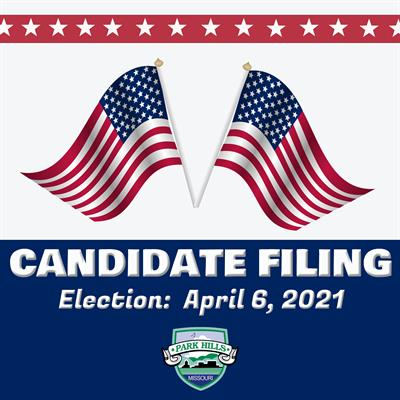 Notice of Candidate Filing Dates For Park Hills City Council & Mayor