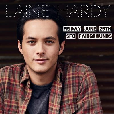 Laine Hardy In Concert June 25! Tickets On Sale Now!