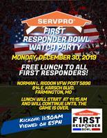 SERVPRO®  First Responder Bowl