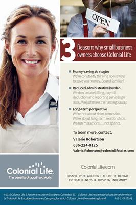 Why Small Business Owners Choose Colonial Life