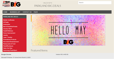 KFMO and B104 Radio Launches Online Store