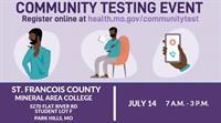 Community COVID Testing Event