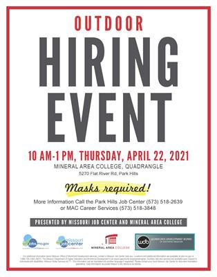 OUTDOOR Spring Hiring Event 2021