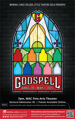 Godspell Coming to MAC April 29-May 1