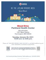 Blood Drive: Parkland Health Center