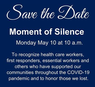 St. Louis Metropolitan Pandemic Task Force Invites The Community to Observe Moment of Silence on May 10