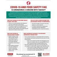 COVID-19 And Food Safety FAQ - Is Coronavirus a Concern With Takeout?