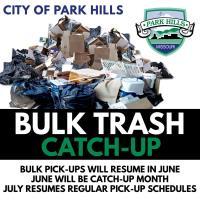 City of Park Hills Resumes Bulk Trash Pick-Ups