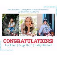 Park Hills - Leadington Chamber Awards Scholarships to Three Central High School Graduates