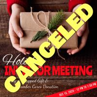 Chamber's Holiday Luncheon Canceled