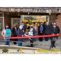 Ribbon Cutting - The Yellow Rose Thrift Shop