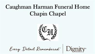 Caughman-Harman Funeral Home Chapin Chapel