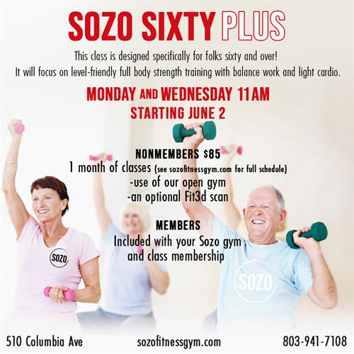fun classes for all fitness levels!