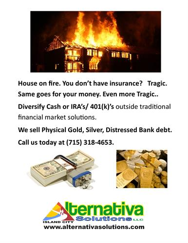 You need insurance for your money in retirement accounts!