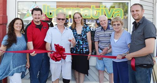 Grand Opening 2017 with Cumberland Chamber of Commerce