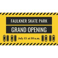 Faulkner Skate Park Grand Opening